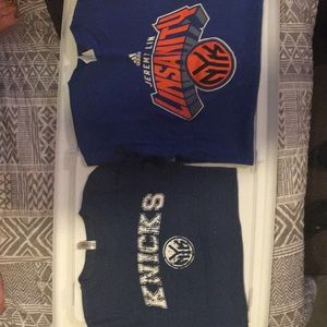2 knicks  T-shirts